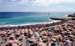 Spiaggia a luglio