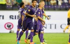 Fiorentina, prima vittoria che conta: 3-0 al Guingamp. Sblocca Vargas, poi segnano Cuadrado e Bernardeschi. Pagelle