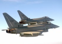 Due caccia intercettori Eurofighter si sono alzati in volo da Grosseto