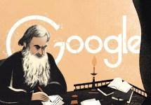 Il Doodle dedicato a Lev Tolstoj