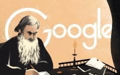 Google: dedicato a Tolstòj il doodle di oggi 9 settembre