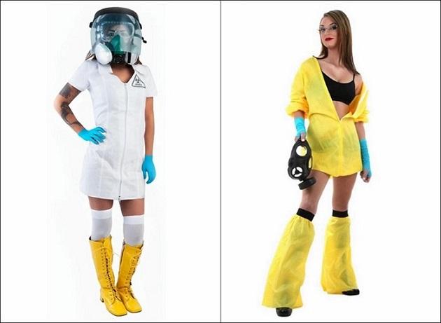 Il costume da ebola in vendita per questo Halloween