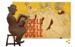 Toulouse-Lautrec: Google gli dedica il doodle di oggi 24 novembre, a 150 anni dalla nascita