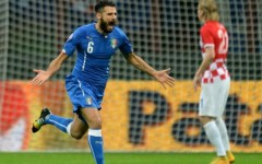Euro 2016: Italia e Croazia pari (1-1) fra i fumogeni. Gol di Candreva e Perisic (su papera di Buffon). Pagelle