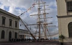 Livorno, festa grande all'Accademia Navale per il giuramento dei nuovi cadetti (VIDEO-FOTO)