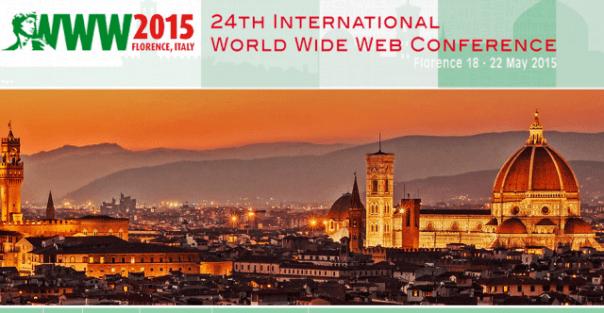 International World Wide Web Conference, a Firenze dal 18 al 22 maggio 2015