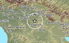 Firenze, scossa di terremoto di 2,8 gradi Richter