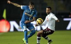 Empoli: pareggio (0-0) con il Torino. Vecino salterà il derby di domenica con la Fiorentina