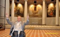 Zeffirelli in San Firenze: «Questo palazzo diventerà la casa della cultura universale». Sopralluogo del maestro con il sindaco Nardella (Vid...
