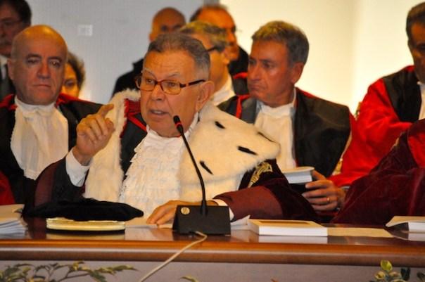 Il procuratore generale Tindari Baglione