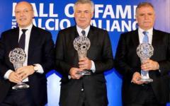 Hall of fame del calcio: sul podio Carletto Ancelotti, ora allenatore mito del Real Madrid