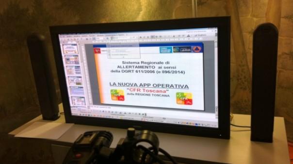 Allerta meteo, in Toscana la nuova app della Regione