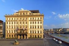 L'hotel Excelsior a Firenze dove è stato fatto il colpo
