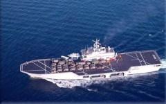Nave San Giorgio, della marina militare, verso la Libia: esercitazione dai connotati strategici davanti alle acque di Tripoli