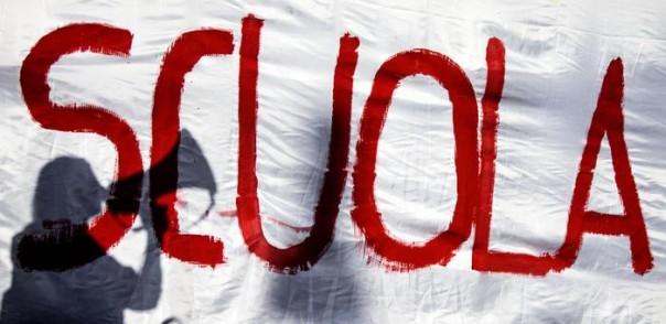 manifestazione contro la scuola
