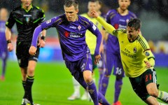 Fiorentina-Cesena (ore 15, diretta tv su Mp e Sky ): per i viola è come una finale per un posto in Europa. Ilicic e Gilardino tandem d'attac...