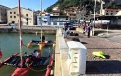 Castiglione della Pescaia, in kayak dalla Danimarca: il viaggio della famiglia Simonsen