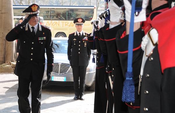 Il generale Tullio Del Sette a Firenze