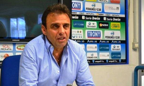 Il patron dell'Empoli, Fabrizio Corsi