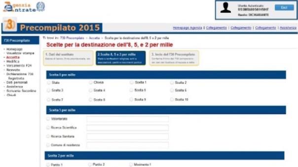 730 PRECOMPILATO 2015 SCARICA
