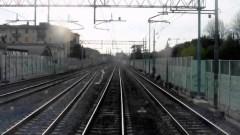 Il tratto della linea Firenze Arezzo a Rovezzano