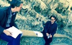 Firenze: Tom Hanks, Ron Howard e Felicity Jones a Boboli per il film «Inferno»
