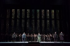 Prove di antepiano di Fidelio al Teatro dell'Opera di Firenze.