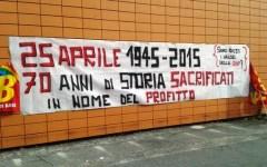 Livorno, 25 aprile: la Coop tiene aperti alcuni supermercati. E scatta la protesta