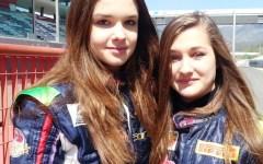 Autodromo del Mugello, in pista Julia e Wiktoria le «gemelle più veloci del mondo»