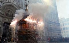 Week end di Pasqua (4 e 5 aprile) a Firenze e in Toscana: Scoppio del Carro, Uffizi e musei gratis
