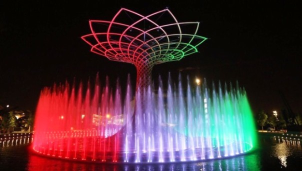 Expo 2015 a Milano, l'albero della Vita