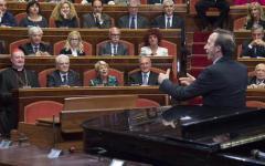 Dante: Benigni celebra i 750 anni dalla nascita del sommo poeta a Palazzo Madama