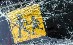 Pistoia, incidente al bus dei disabili: tre feriti