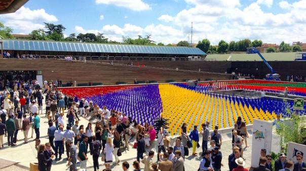 Pitti Uomo 2015 alla Fortezza nel giorno dell'inaugurazione