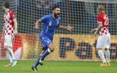 Euro 2016: l'Italia pareggia in Croazia (1-1). A Mandzukic risponde Candreva su rigore. Misteriosa svastica in campo. Pagelle