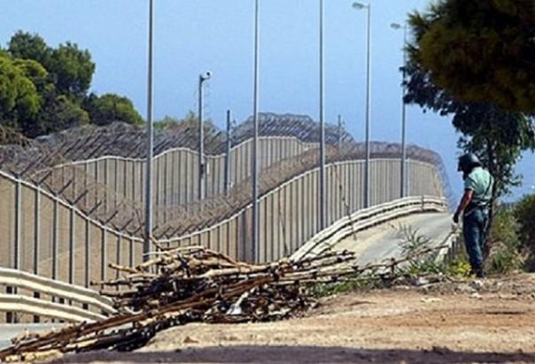 Il muro di Ceuta