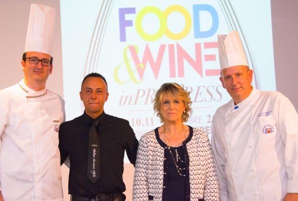 Presentazione Food And Wine in Progress