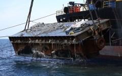 Isola del Giglio: rimossa dalla Micoperi la prima piattaforma usata per la Concordia