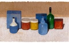 Google dedica a Giorgio Morandi il doodle di oggi 20 luglio