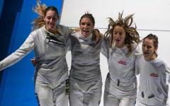 Scherma: all'Italia due medaglie d'oro nel fioretto ai mondiali di Mosca. Protagonisti la pisana Martina Batini e il livornese Andrea Baldin...