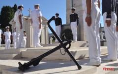 Minorca 2015: l'Accademia Navale al sacrario dei Caduti della Corazzata «Roma» (VIDEO-FOTOGALLERY)