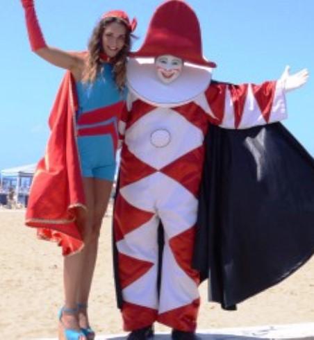 Il Carnevale estivo di Viareggio, edizione 2015
