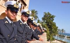 I cadetti dell'Accademia Navale «conquistano» Palma di Maiorca (Fotogallery)
