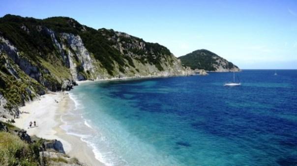 Isola d'Elba, la spiaggia di Sansone