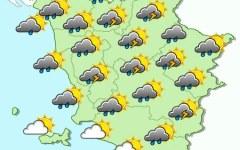 Toscana, nuova allerta meteo per forti temporali fino alle 8 di martedì 25 agosto