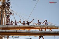 Gli allievi dell'Accademia Navale festeggiano la nascita del corso Mizar
