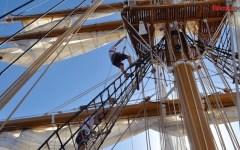 Accademia Navale: vita da allievo a bordo della Nave scuola «Palinuro» in viaggio nel Mediterraneo (Fotogallery)