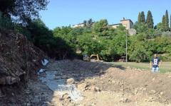 Volterra, scoperte mura antiche: forse di un anfiteatro romano