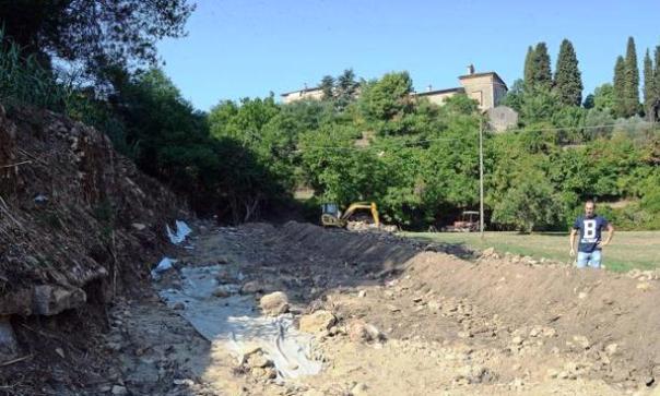 Volterra, le antiche mura ritrovate sarebbero di un anfiteatro