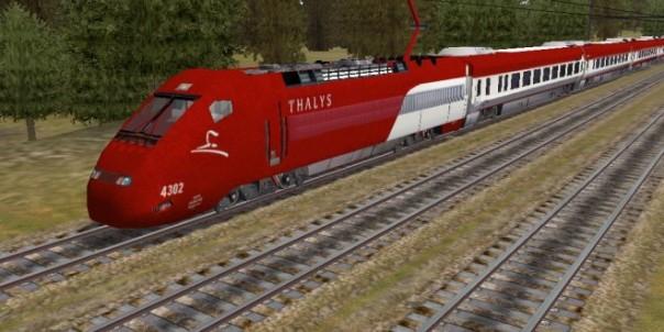 Il treno AV Thalys